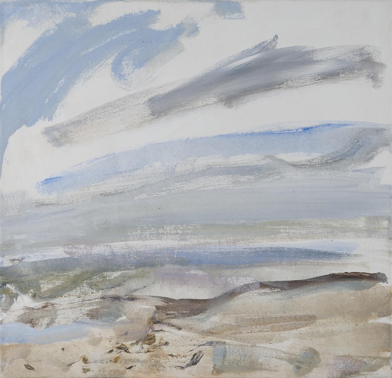 Beach, Midwinter 22x25 2011